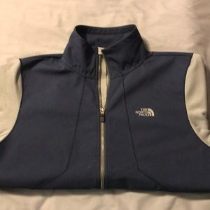 North Face Jacket - Blue / Silver / Size Medium
